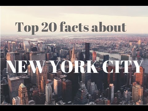 Top 20 facts about the New York city America