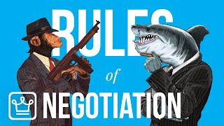 15 RULES of NEGOTIATION