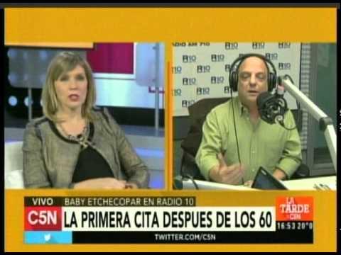C5N - Duplex entre La Tarde y Baby Etchecopar en Radio 10