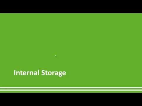 29 - Internal storage - Android Studio