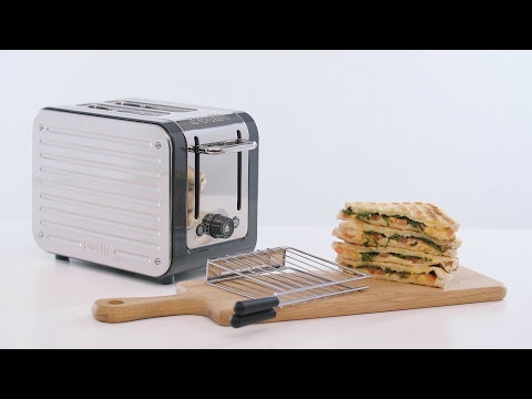 How to make a toasted sandwich with the Dualit Architect Toaster and Sandwich Cage
