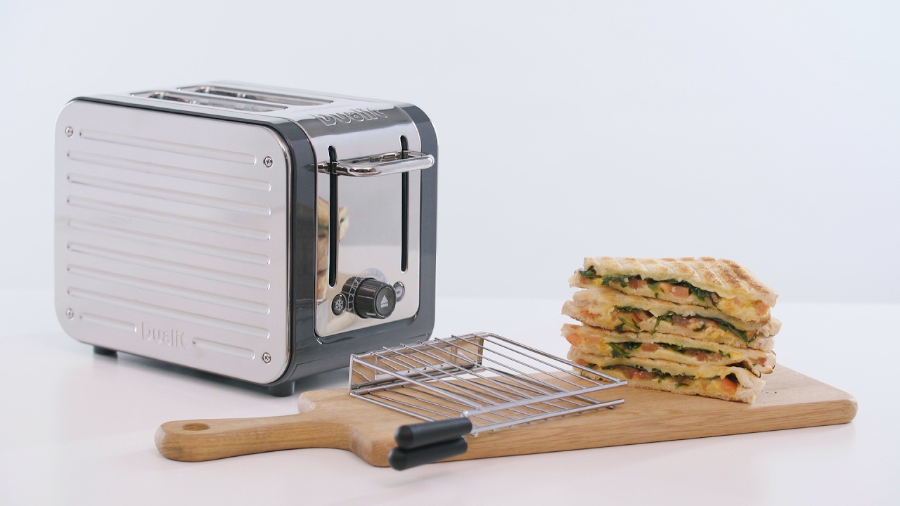 How To Make A Toasted Sandwich With The Dualit Architect