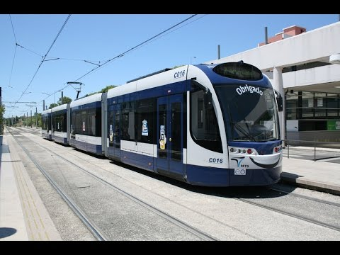 Almada (Lisbon) Tramway - Metro Sul do Tejo