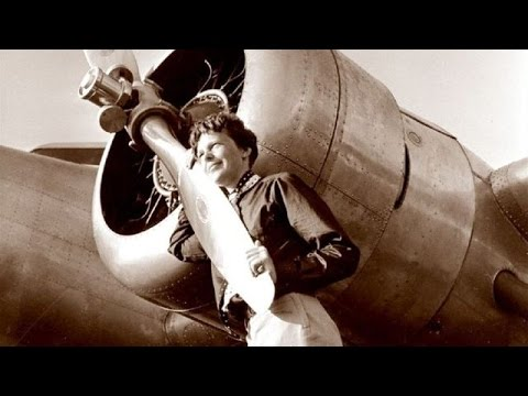 Film inédito de la desaparecida aviadora Amelia Earhart