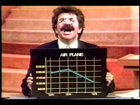 Joel Siegel on Airplane Fares and Movie Ticket Prices (WABC 1979)