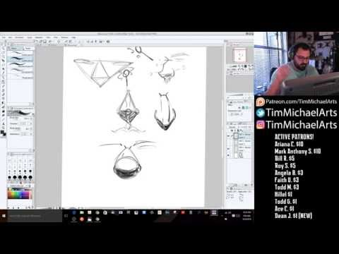 How To Draw Caricatures - How To Draw a Nose!