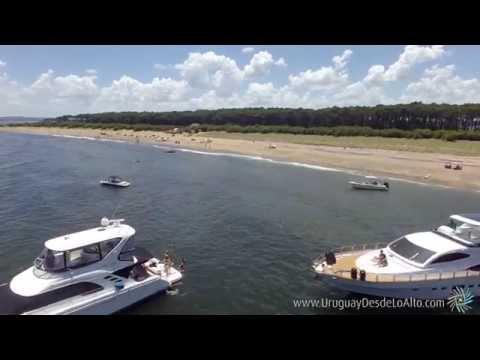 Video aéreo de la Isla Gorriti, Punta del Este, Maldonado, Uruguay Desde Lo Alto