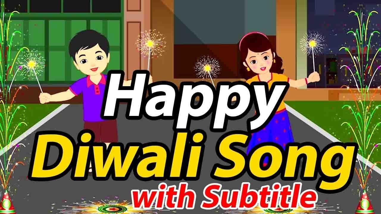 Diwali Song in English   Happy Diwali Wishes 2019 ...