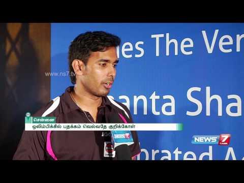 Achanta Sharath Kamal on qualifying for Rio Olympics 2016 | Howzatt | News7 Tamil