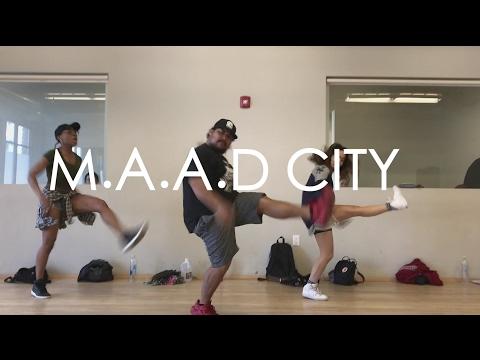 M.A.A.D CITY | Kendrick Lamar | Choreography by Dean Elex Bais