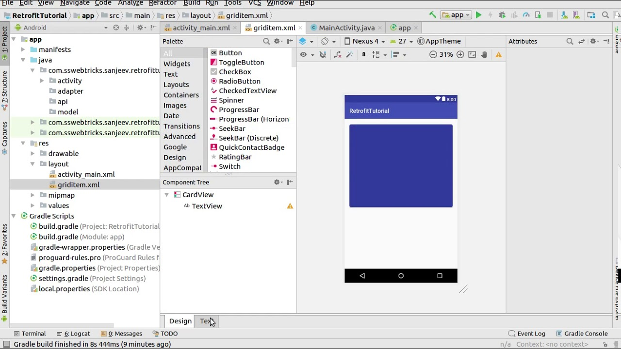 Android Retrofit Complete Tutorial - Web Development and