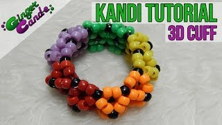 Repeat youtube video 3D Cuff - [Kandi Tutorial] | @GingerCandE
