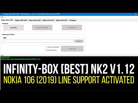 Infinity-Box [BEST] NK2 v1.12 - Nokia 106 (2019) line support activated