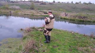 Ловля щуки на воблеры Косадака/ Рыбалка в Туле и тульской области
