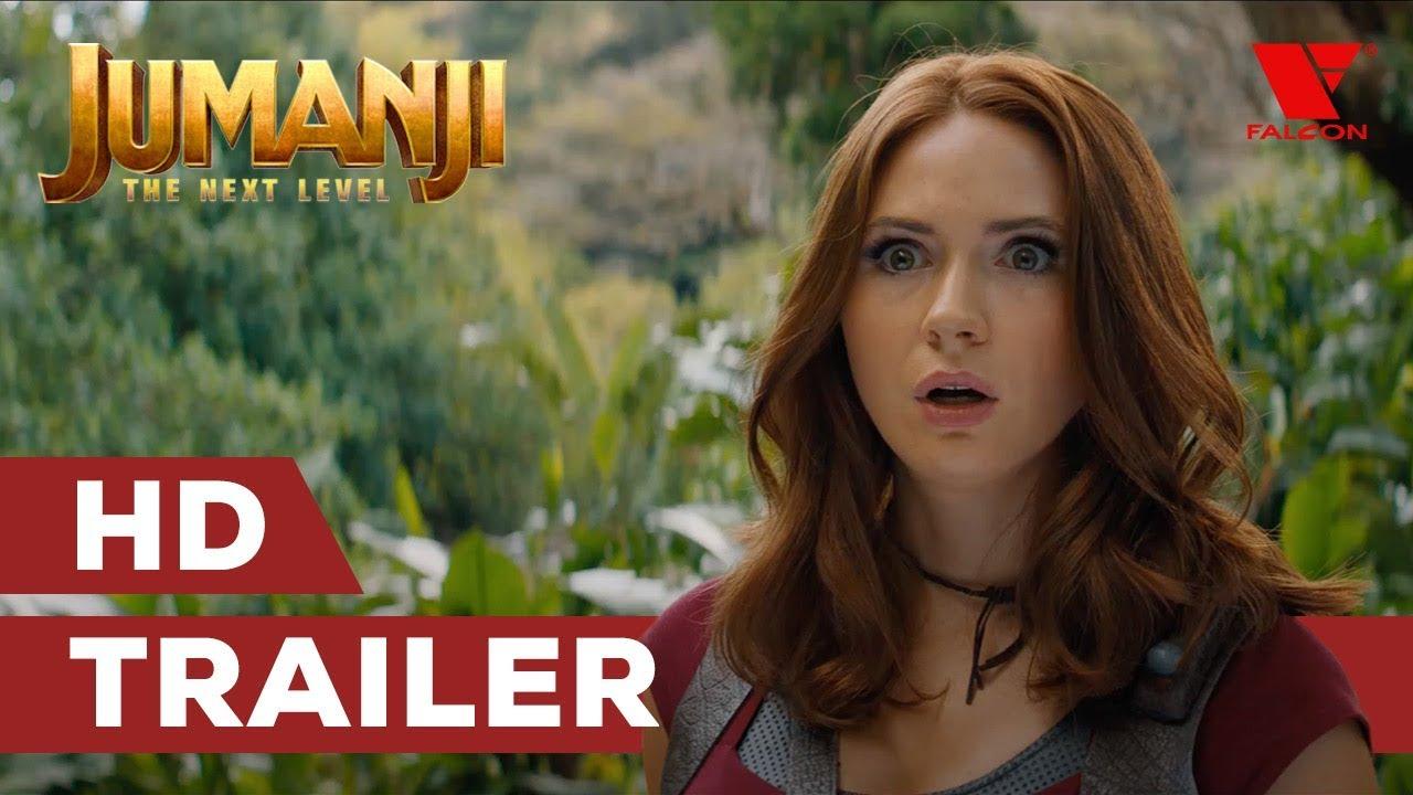 Jumanji: Další level (2019) HD trailer | CZ dabing