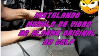 Como instalar automatizador de vidros no golf MK4 #playsound