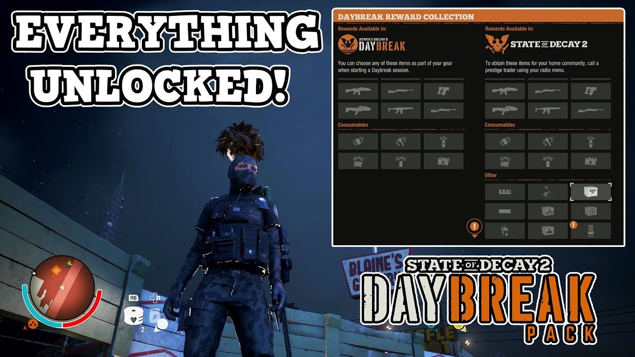 FINALLY! ALL REWARDS UNLOCKED | DAYBREAK DLC | STATE OF DECAY 2