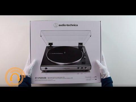 Разопаковане на грамофон Audio-Technica LP 60 X - Slushalki.bg
