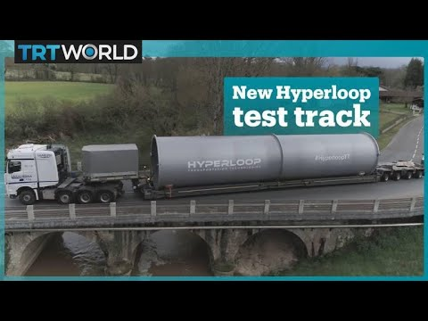 Europe's first hyperloop test track
