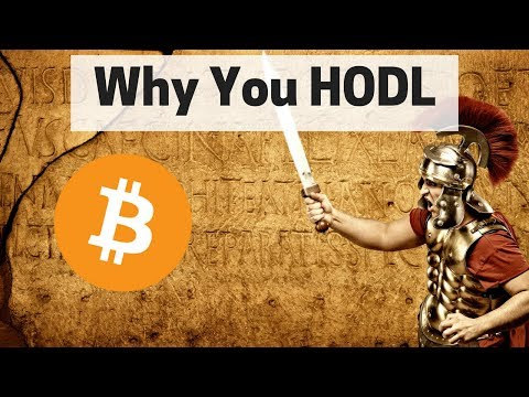 This is why you HODL in Crypto - Lessons from the dip