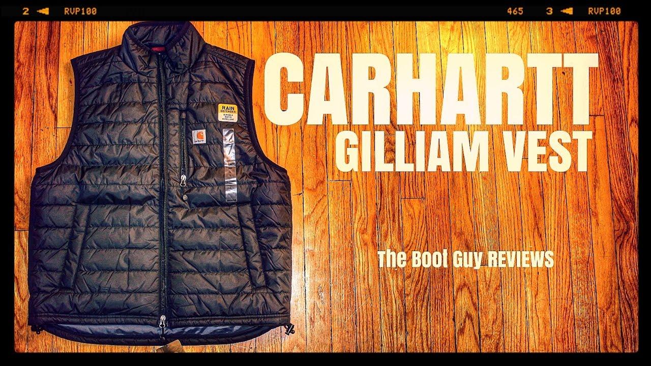 be88b4c4e2e20 CARHARTT GILLIAM VEST [ The Boot Guy Reviews ] - YouTube