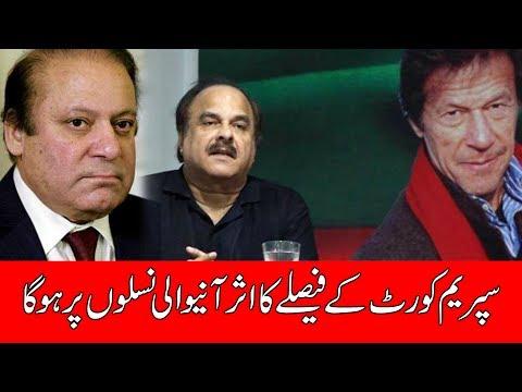 PTI Leader Naeem Ul Haq Media Talk - 17 July 2017