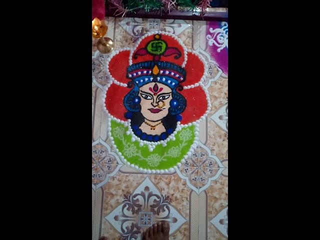 Mahalakshmi rangoli