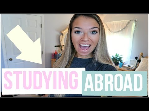 A Week In My Life: PACKING FOR COLLEGE STUDY ABROAD!