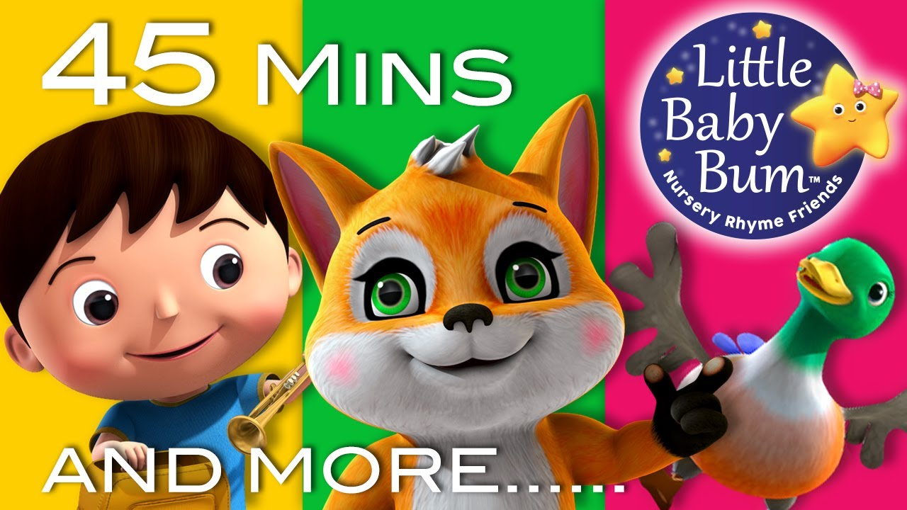 Little Baby Bum The Fox Nursery Rhymes For Babies Songs For