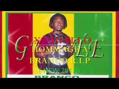 2X2 DIALLO | Hommage À BRANCO R.I.P | Official Music 2017 | By Dj.IKK