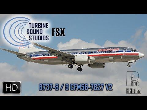 simMarket: TURBINE SOUND STUDIOS - BOEING 737-800/900 CFM56