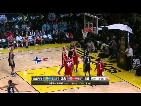 NBA Sprint Celebrity Game: East vs .West | February 14, 2014 | NBA 2013-14 Season