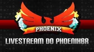 #PhoenixStream - Minecraft HungerGames para diversão de todos e todas ;-;