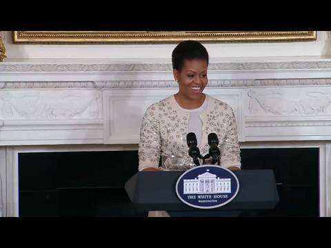 First Lady Michelle Obama Discusses State and Official Visits