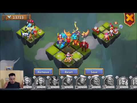 Helping A Friend With LBF Setup Before A FRESH WEEK Castle Clash