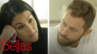 Nikki Bella Has Difficult Talk With Artem About Past Rapes | Total Bellas | E!