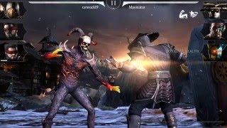 Mortal Kombat X: Unplayable Character Meshes/ IOS & Android