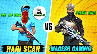 HARISCAR vs MAGESH GAMING Funny Youtuber Challenge | CLASH SQUAD | TAMIL |MG Gaming