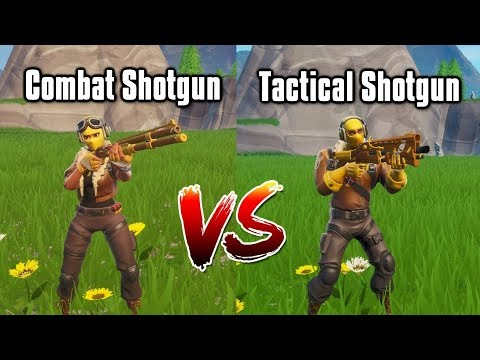 Combat Shotgun vs Tac Shotgun - Season 9 Shotgun Guide (Fortnite Battle Royale)