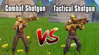 Combat Shotgun vs Tac Shotgun - Season 9 Shotgun Guide (Fortnite Battle Royale)