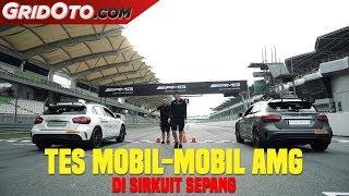 Tes Mobil-mobil Mercedes-AMG di Sirkuit Sepang Malaysia | GridOto