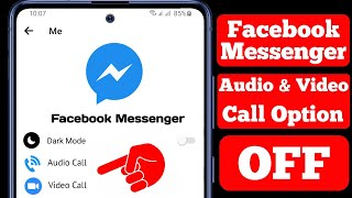 How To Turn Off Audio & Video Call On Facebook Messenger || Disable Messenger Call screenshot 4