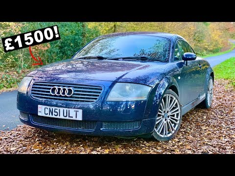 £1500 PERFORMANCE SPORTS CAR - MK1 Audi TT 225 Review, Mods, Running Costs, Performance Test