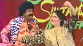 Sultan Rahi & Gori in Dubai Show Sone di taweetri Dance performance