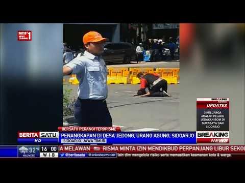 Video Penangkapan Terduga Teroris oleh Densus 88 di Sidoarjo