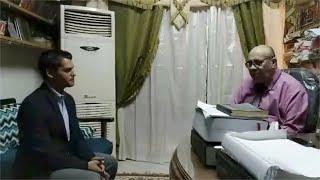 أول لقاء بين الشيخ مبروك عطية ومقلده على تيك توك حسين نصار