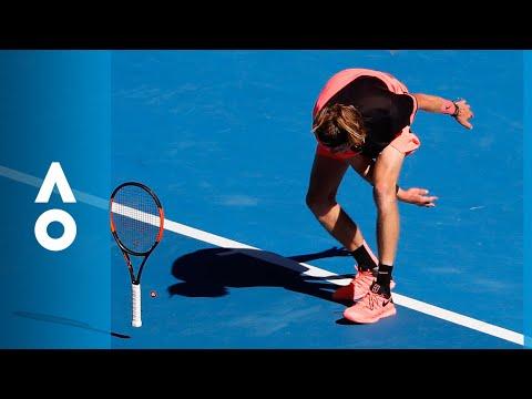Rublev's double fault his breaking point | Australian Open 2018