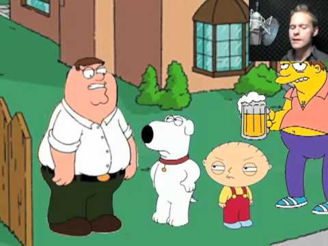 when the simpsons meet family guy