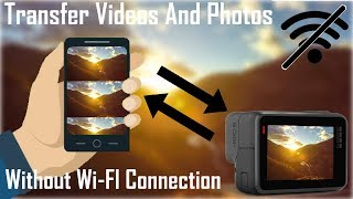 How To Transfer Videos And Photos From Your GoPro To Your Phone | Without WiFi Connections Or Cables