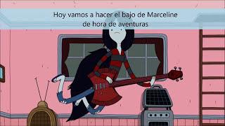 tutorial: bajo hacha de cartón de Marceline de hora de aventuras